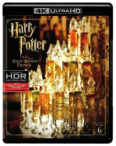 Harry Potter and the Half Blood Prince (With Blu-ray) 4K ULTRA HD BLU-RAY NEW