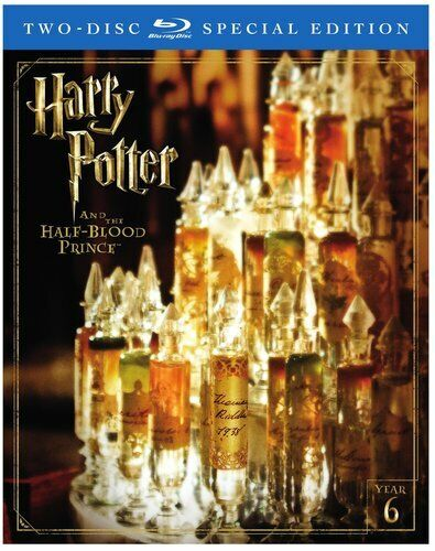 Harry Potter and the Half Blood Prince (2 Disc, Special Edition) BLU-RAY NEW