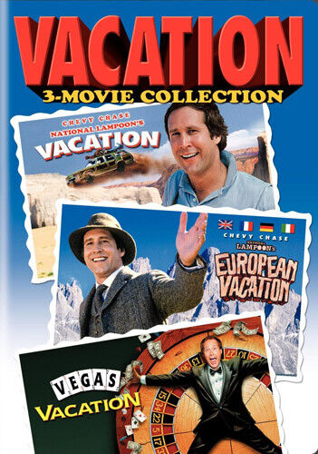Vacation 3 Movie Collection: Vacation (1983) / European / Vegas Vacation DVD NEW