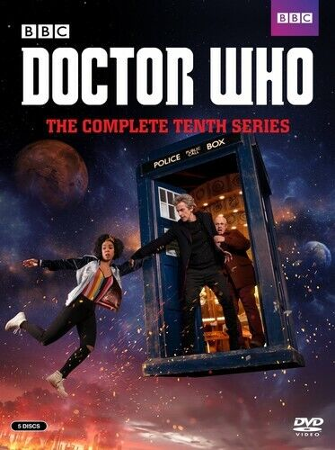 Doctor Who: The Complete Tenth Series (Series 10) (5 Disc) DVD NEW