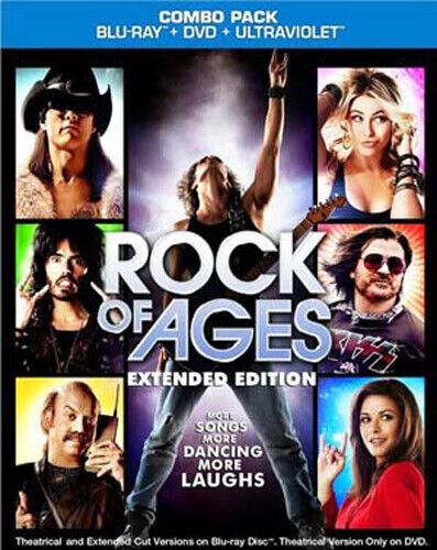 Rock of Ages (2 Disc, Blu-ray + DVD) BLU-RAY NEW