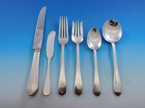Salem by Tiffany & Co Sterling Silver Flatware Set for 12 Service 72 pieces
