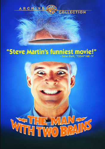 The Man with Two Brains DVD NEW