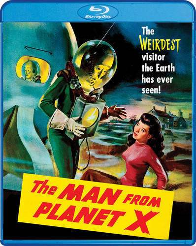 The Man From Planet X BLU-RAY NEW