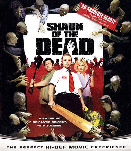 Shaun of the Dead BLU-RAY NEW