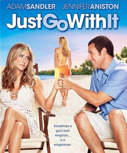Just Go With It BLU-RAY NEW