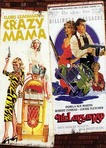 Crazy Mama / The Lady in Red DVD NEW