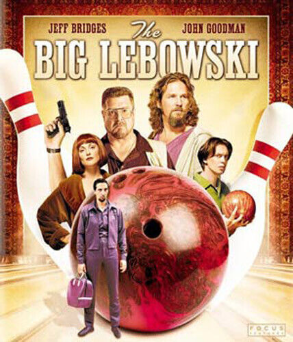 The Big Lebowski BLU-RAY NEW