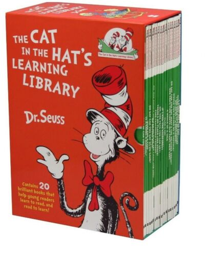 New Dr Seuss The Cat in the Hat Learning Library 20 - Book Boxset 2019 stock