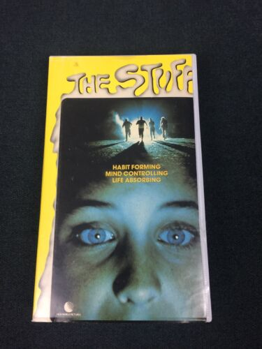 The Stuff 1986 VHS Classic Horror Ex Rental Rated M Cropped Original Sleeve Rare