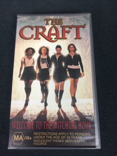 1996 The Craft VHS MA15+ Cult Horror Classic Great Condition Original Release