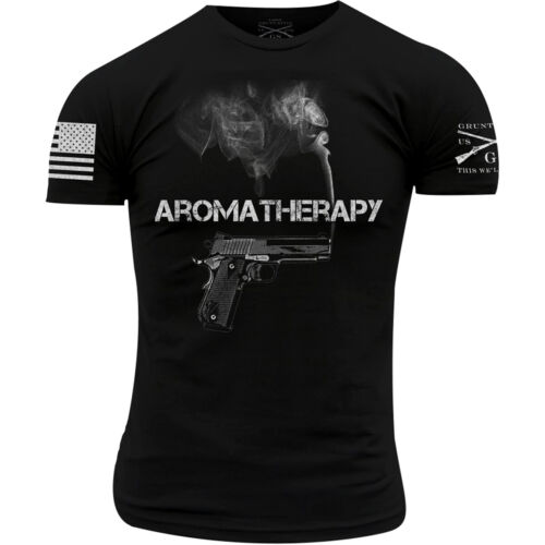 Grunt Style Aromatherapy T-Shirt - Black <br/> Exclusive Seller of Grunt Style on eBay