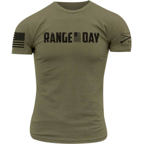 Grunt Style Range Day T-Shirt - Olive Green <br/> Exclusive Seller of Grunt Style on eBay
