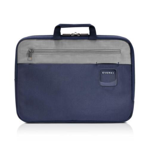 "Everki 15.6"" ContemPRO HIGH QUALITY Laptop Sleeve with Memory Foam Slim Navy Bag"