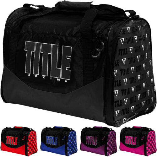 Title Boxing Individual Sport Bag <br/> Exclusive Seller of TITLE Boxing on eBay