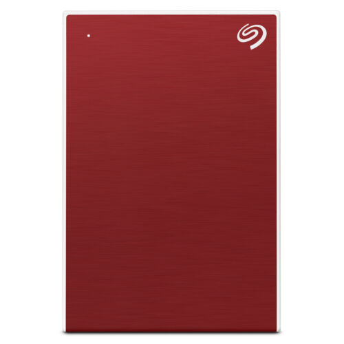 """Seagate 4TB Backup External Plus 2.5"""" Portable Hard Drive HDD - Red"""