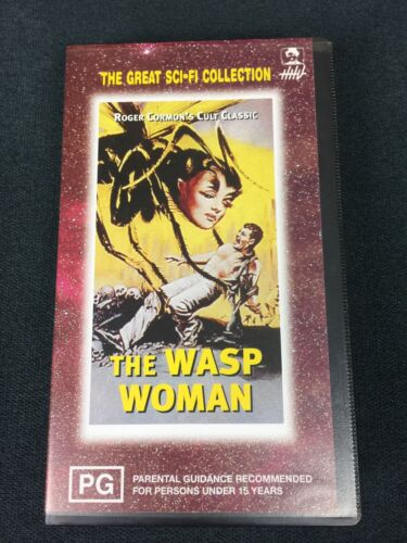 Roger Corman's The Wasp Woman VHS 1961 Cult Classic Sci-Fi HHV1997 Release