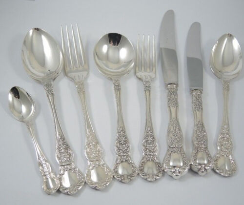 Vintage Australian Silver Plate Rodd Windsor Cutlery Set for 6 people