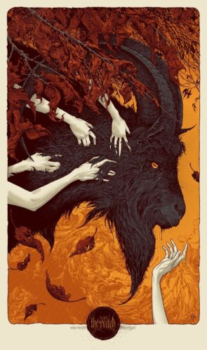 The Witch by Aaron Horkey SIGNED Ltd x/350 Screen Print Poster Art MINT Mondo