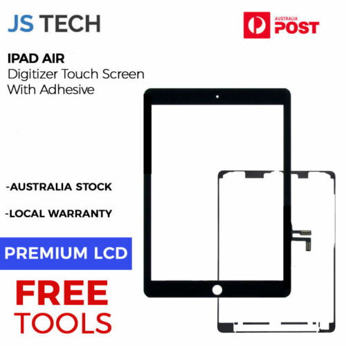 New iPad Air Digitizer Touch Screen Display Replacement with Adhesive Free Tools
