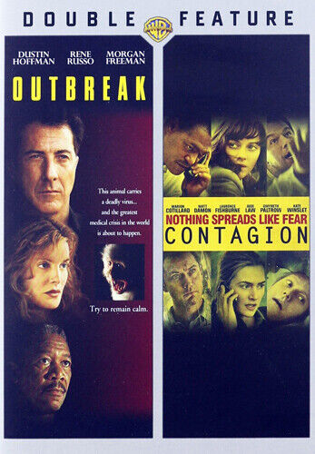 Outbreak / Contagion (2011) (2 Disc) DVD NEW