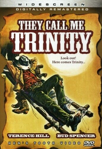 They Call Me Trinity DVD NEW