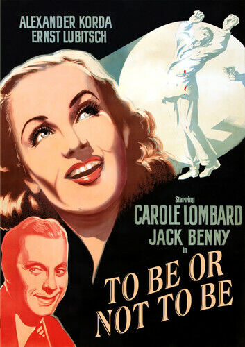 To Be or Not to Be (1942) (Carole Lombard) DVD NEW