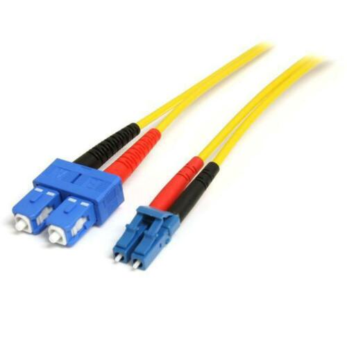StarTech 4m Fiber Optic Cable - Single-Mode Duplex 9/125 LSZH - LC/SC