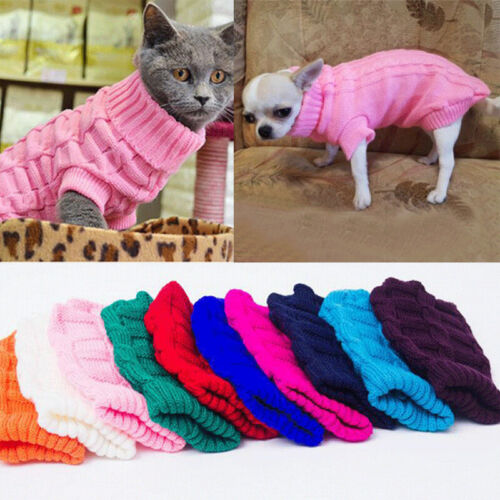 Pet Dog Clothes For Small Dog Cat Clothing Sweater Coat Dog Jacket For Chihuahua