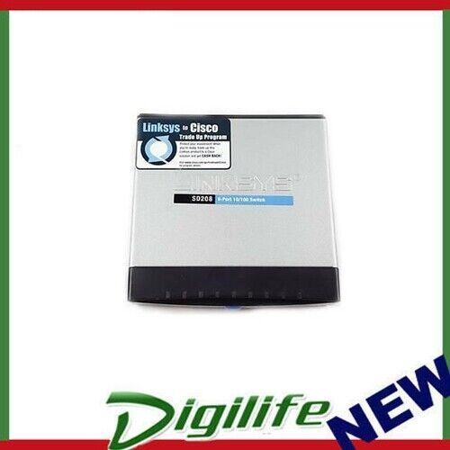 Linksys SD208 8-Port 10/100 Fast Ethernet Switch