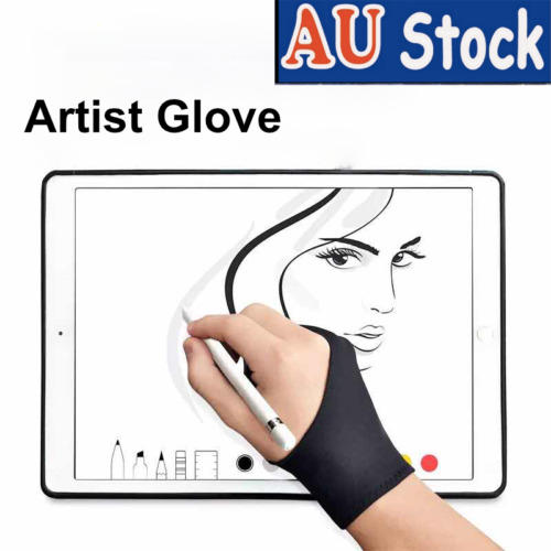 Artist Glove Digital Drawing Friction Prevention Palm Rejection Smudging Reduce