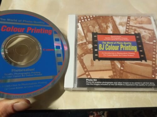 CANON CD-ROM The World Of Photo Quality BJ Colour Printing