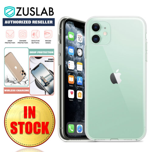 iPhone 11 Pro Max Case ZUSLAB Premium Soft Crystal Clear Cover for Apple