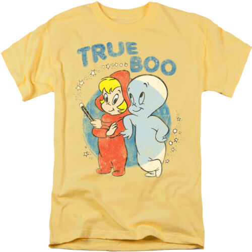 Casper The Friendly Ghost Vero Boots Autorizzato T-Shirt per Adulti