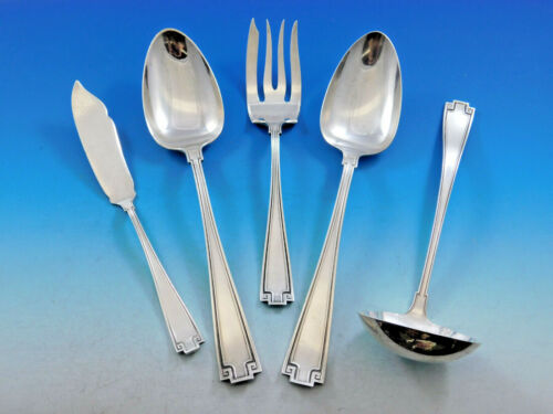 Etruscan by Gorham Sterling Silver Essential Serving Set Large Hostess 5-piece