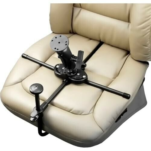 RAM MOUNT ram-sm1-101Seat-Mate with Double Ball Mount and Round Plate