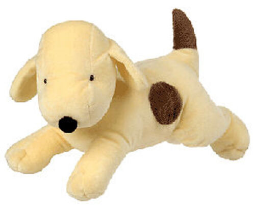 PLUSH SOFT TOY Classic Spot the Dog Lying 30cm - the Books by Eric Hill / ABC TV