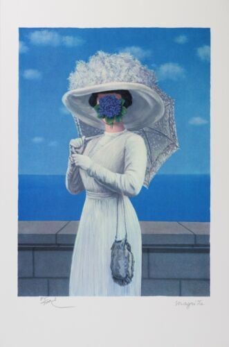 Rene Magritte - The Great War (lithograph, plate-signed & numbered)