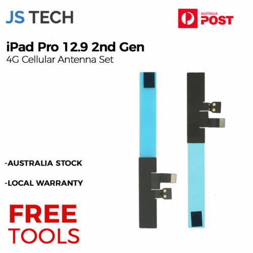 New 4G Cellular Antenna Flex Cable Set Replacement for iPad Pro 12.9 2nd Gen