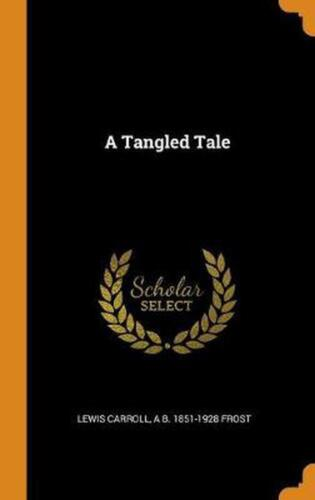 Tangled Tale by Lewis Carroll (English) Hardcover Book Free Shipping!