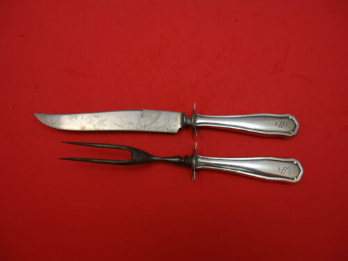 Dolores by Shreve Sterling Silver Steak Carving Set 2pc