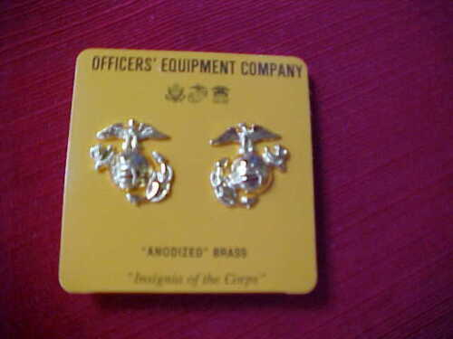US Marine Corps - Eagle Globe & Anchor for Dress uniform Anodized new in packageMarine Corps - 66531