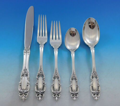 Grand Duchess by Towle Sterling Silver Flatware Set for 8 Service 46 pieces