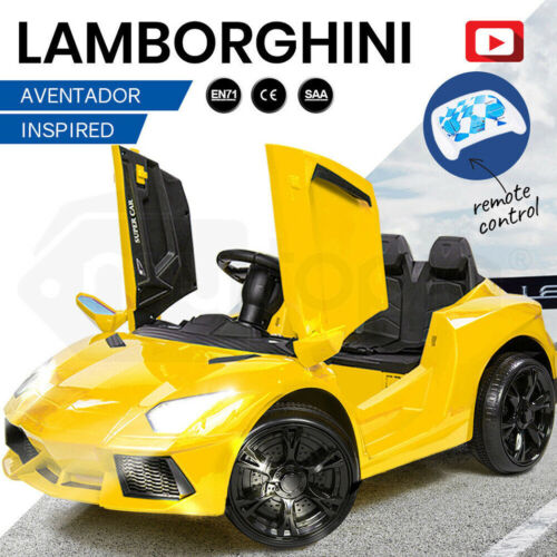 【EXTRA10%OFF】ROVO KIDS Ride-On Car LAMBORGHINI Inspired - Electric Battery <br/> 10% OFF. Use code MYTTAKE10. Ends 01/10. $150 Max disc.