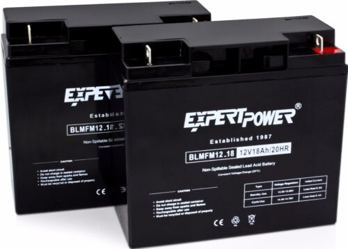 2 EXP12180 12V 18AH Battery for APC SmartUps 1400 1500 [Replacement for UB12180]