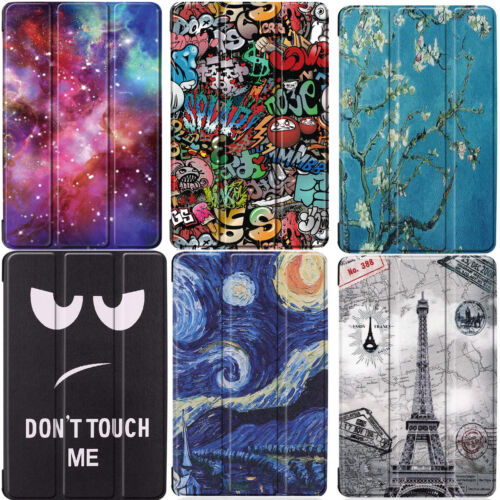 Samsung Galaxy Tab A 8.0 2019 (T290) Printed Slim Smart Case Cover For Samsung