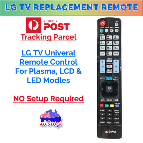 2019 New LG Replacement Remote Control For LCD, LED, Plasma, Smart 3D TV