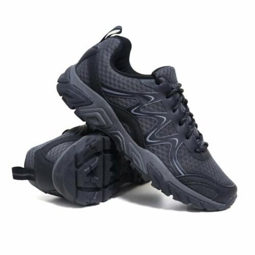 MENS LADIES HIKING BOOTS WALKING ANKLE WIDE FIT TRAIL TREKKING TRAINERS SHOES