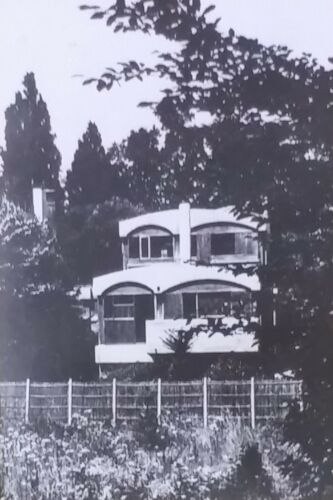 Jaoul House A, Neuilly, France, Le Corbusier, Magic Lantern Glass Slide