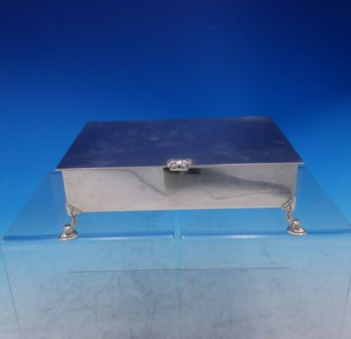Shell and Thread by Tiffany and Co Sterling Silver Cigarette Box #23709 (#3899)